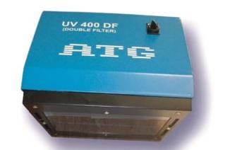 Stationary UV400 lamp
